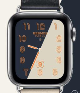 Apple Watch series 4Hermes